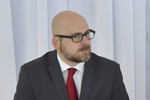Michal Kaliňák, ústredný riaditeľ Kancelárie ZMOS.