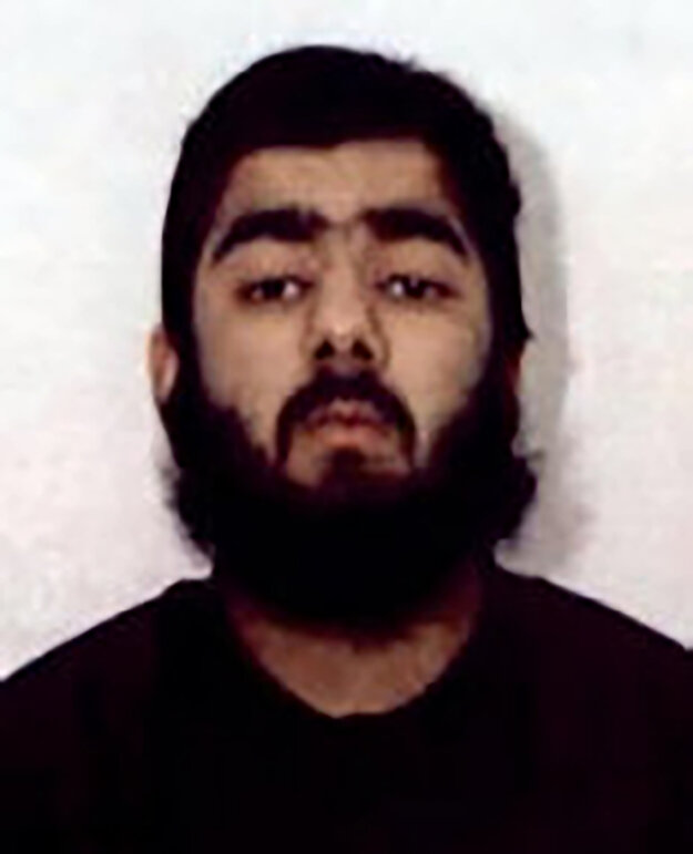Útočník z London Bridge, Usman Khan.
