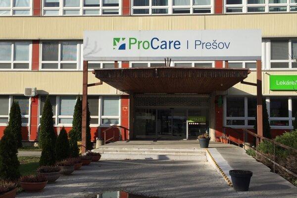 Poliklinika ProCare na Sekčove.