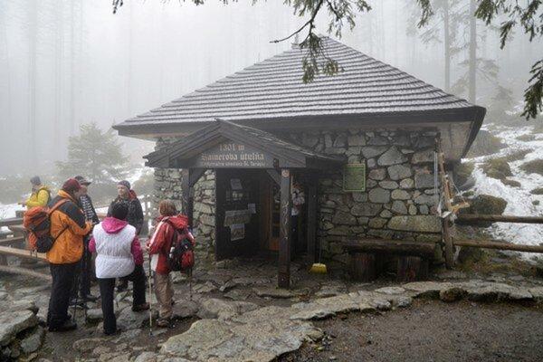 Rainerova útulňa v Tatrách.
