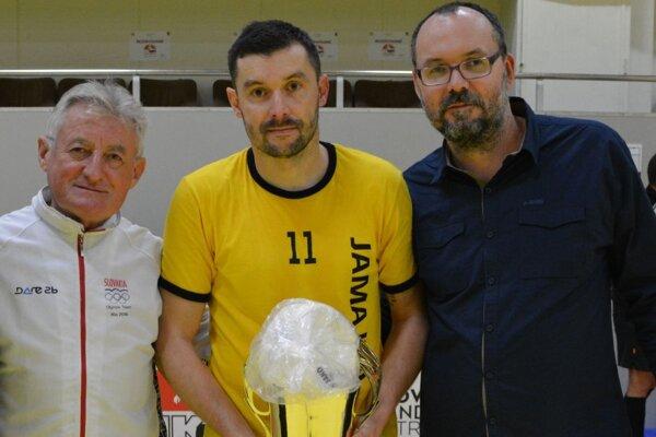 Zľava: Marián Kapusta, Martin Rusňák a Jozef Kakula.