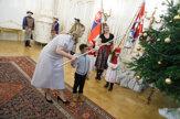 Prezidentka oslávila Mikuláša s deťmi z celého Slovenska