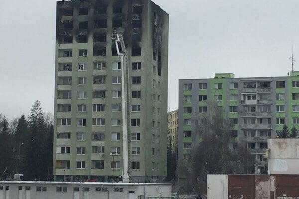 Bytovka na Mukačevskej 7 v Prešove.