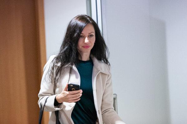 Konkurzná správkyňa Lenka Ivanová.