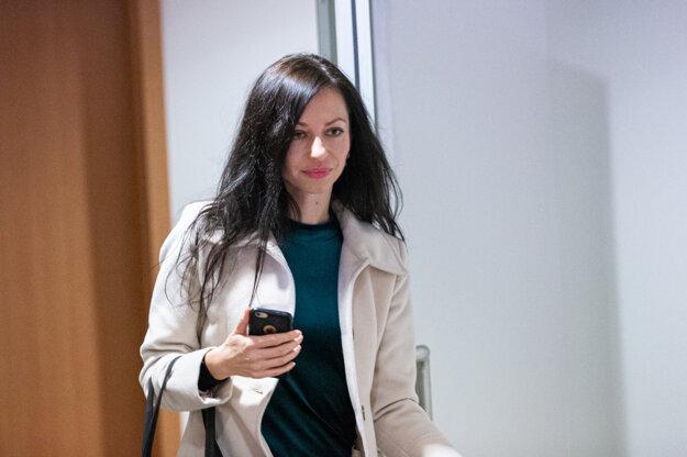 Správkyňa Lenka Ivanová, ktorá riadi konkurz na majetok odsúdeného Ladislava Bašternáka.