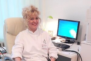 Katarína Šimeková, prednostka Kliniky infektológie acestovnej medicíny Univerzitnej nemocnice Martin.
