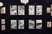 Aký bol československý komiks ukazuje výstava Príbehy v bublinách
