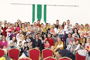 Tohtoročný prírastok novorodencov v Rabči.