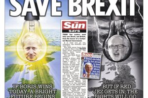 Zachráňte brexit, zachráňte Britániu, vyzýva Sun.