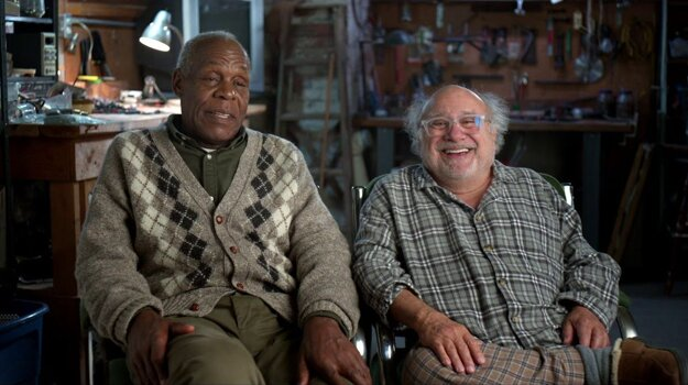Film Jumanji: Ďalší level osviežila dvojica Danny Glover – Danny DeVito.