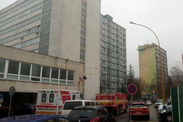 Zásah hasičov na OÚ Košice-okolie.