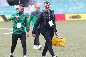 Marek Filo (vľavo) vsúčasnosti pracuje vMŠK Žilina ako kondičný tréner.