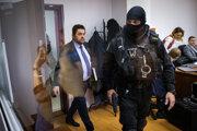 Marian Kočner prichádza na súd.