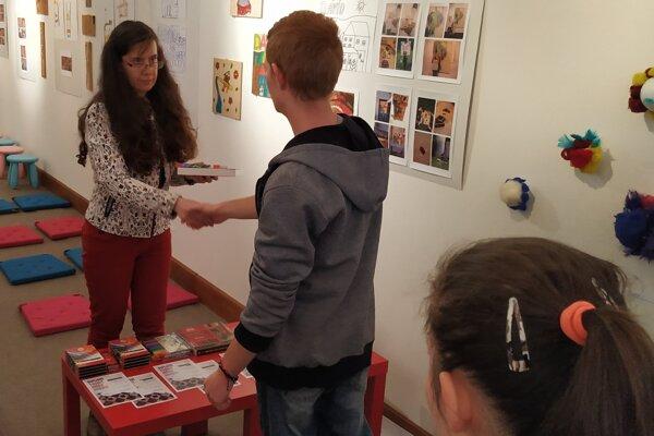 Diela detí budú vNitrianskej galérii vystavené do konca decembra.