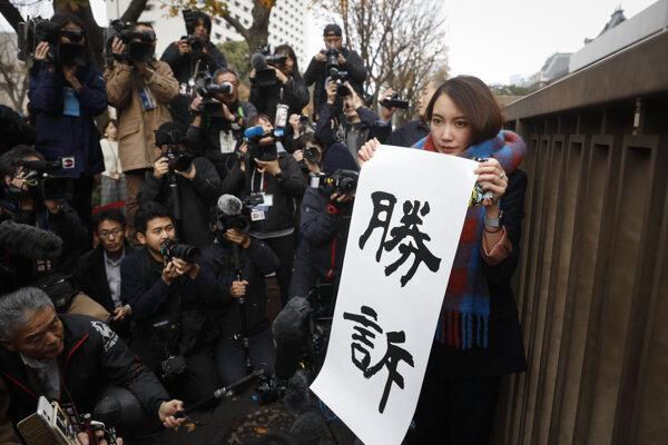 Japonská novinárka Šiori Itová.