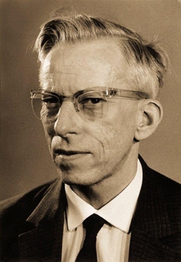 Vynálezca Otto Wichterle.