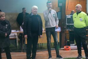 Ľuboš Hlavena (druhý sprava) v akcii na Štefanskom pohári.