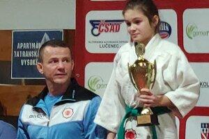 Natália Kissová s trénerom Richardom Útisom.
