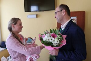 Prvé dieťatko narodené v žilinskej nemocnici sa má k svetu.