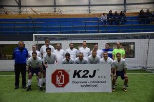 Víťazné mužstvo Slovan Dudince.