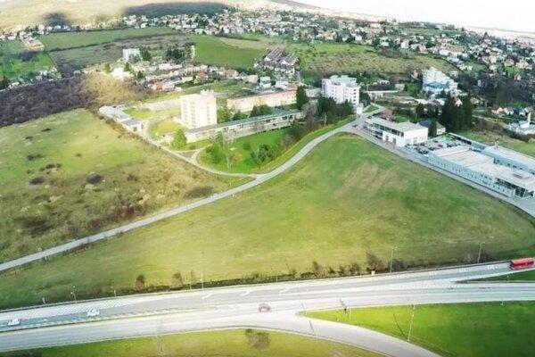 V mestskej časti Zobor v lokalite Šindolka na ulici Dražovská aTopoľčianska chce investor postaviť celkovo 344 bytov.