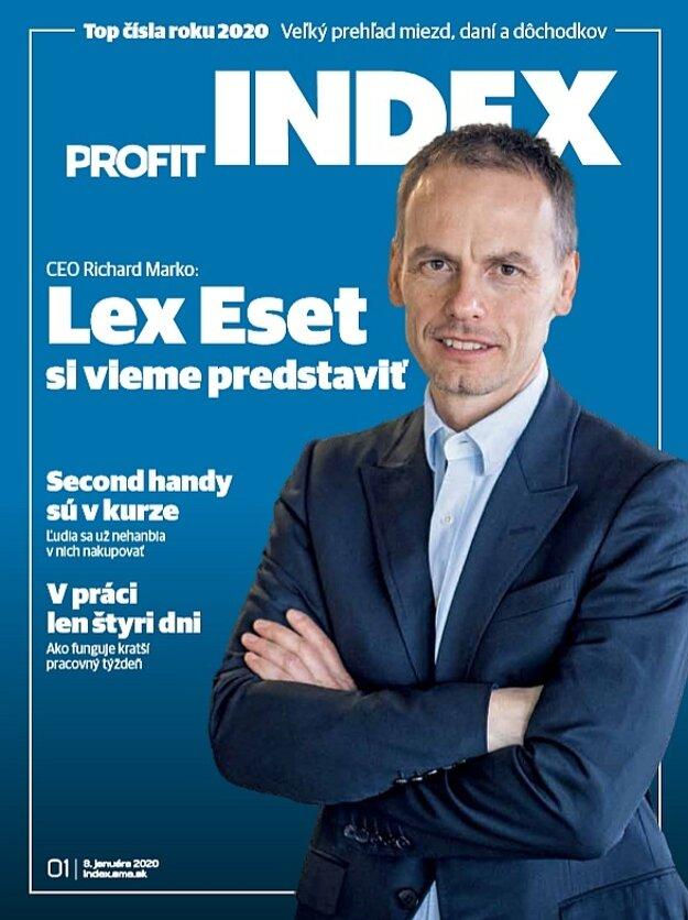 Rozhovor je súčasťou januárového vydania magazínu Profit (INDEX), nájdete ho v stánkoch.