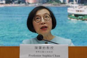 Šéfka zdravotníctva v Hongkongu Sophia Chanová.