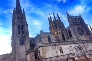 Katedrála v Burgose je podľa Martina najkrajšou na ceste.