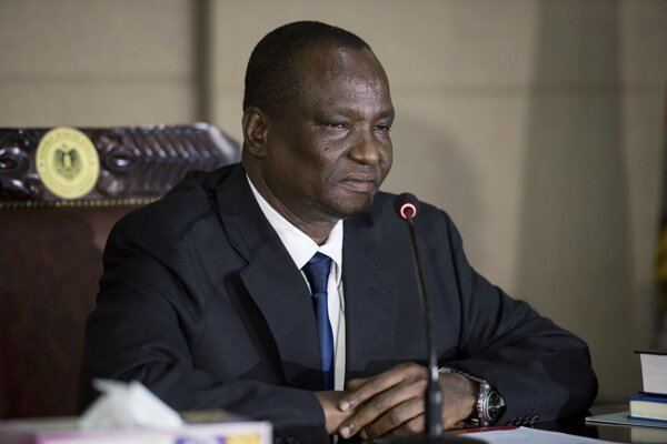 Prvý viceprezident Južného Sudánu Taban Deng Gai.