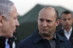 Izraelský minister obrany Naftali Bennett.