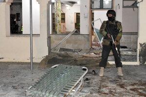 Bombový útok v pakistanskom meste Kvéta.