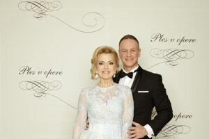 Zlatica Švajdová Puškárová, moderátorka a manžel Patrik Švajda, moderátor