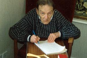 Básne písal až do posledných chvíľ života, aj pár hodín pred smrťou.
