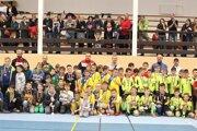 V Tvrdošíne sa predviedla viac ako stovka mladých futbalistov.