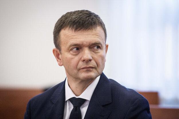 Jaroslav Haščák ako svedok na súde.