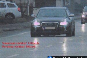 Namerané Audi