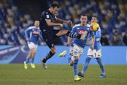 Zápas Lazio - Neapol.