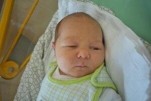 Jakub Kaššovič (3880 g, 52 cm) sa narodil 12. januára Jane a Pavlovi z Melčíc-Lieskového.