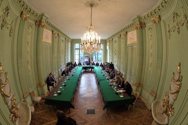 Francúzsky vládny kabinet.