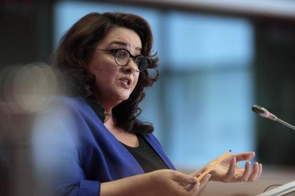 Eurokomisárka pre rovnosť Helena Dalliová.