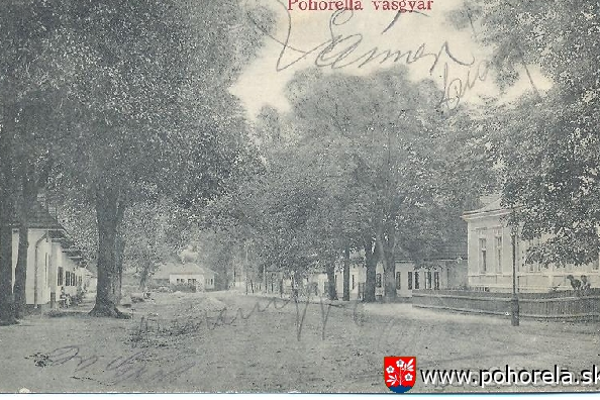 Coburgovský park v minulosti