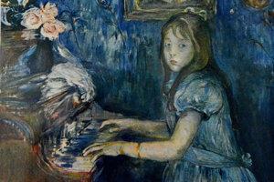 Diela impresionistov v Košiciach. Obraz od Berthe Morisot.