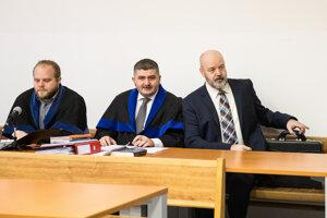Martin Pohovej, Michal Mandzák a Pavol Rusko.
