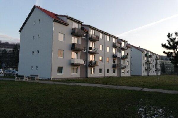 Bytovky na Kukučínovej ulici.