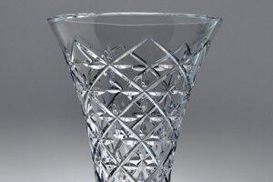 Prototyp vázy, ktorá mala byť súčasťou znovu oživenej výroby v Poltárskych sklárňach.