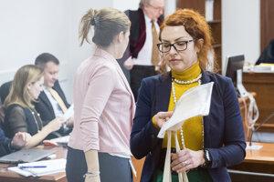 Znalkyňa z oblasti písmoznalectva Kriminalistického a expertízneho ústavu Policajného zboru Barbora Geistová Čakovská.