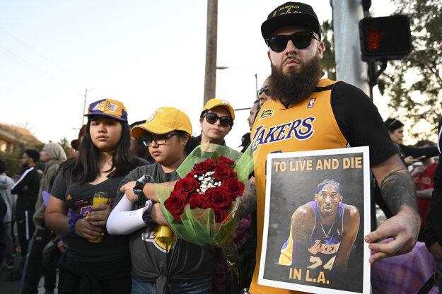 Fanúšikovia po celom svete si uctili pamiatku Bryanta.
