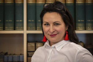 Scenáristka a spisovateľka Mariana Čengel-Solčanská.