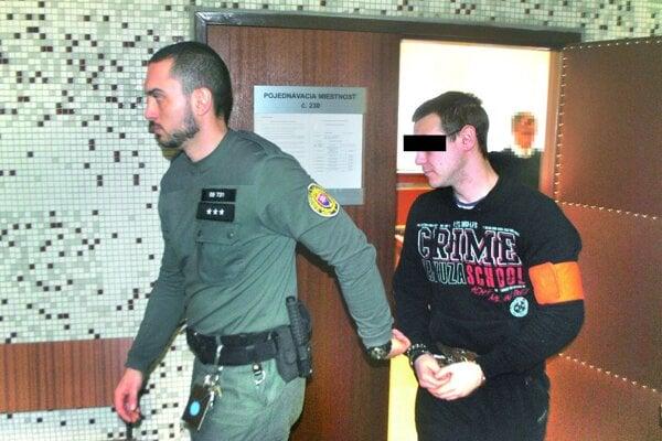 Filip Okoličány bol jediný, kto sa v stredu verejného zasadnutia na krajskom súde zúčastnil.