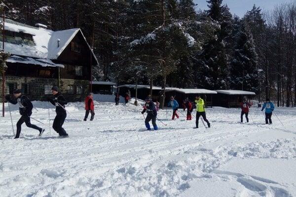 Kopytovská dolina v zime.